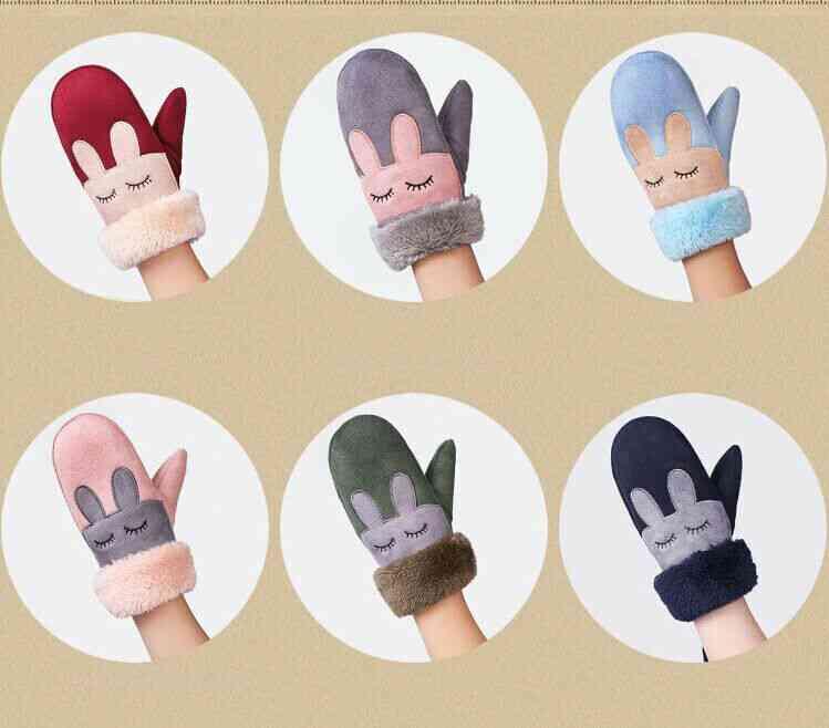 Adjustable Warm For Infant Kids School Gloves