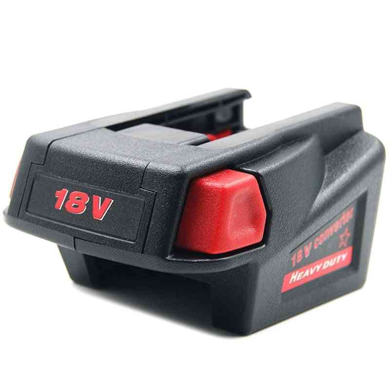 Usb Battery Adapter Converter For Li-ion Battery To V18 Batteries