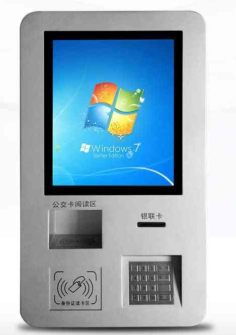 Touch Screen Card Reader Terminal