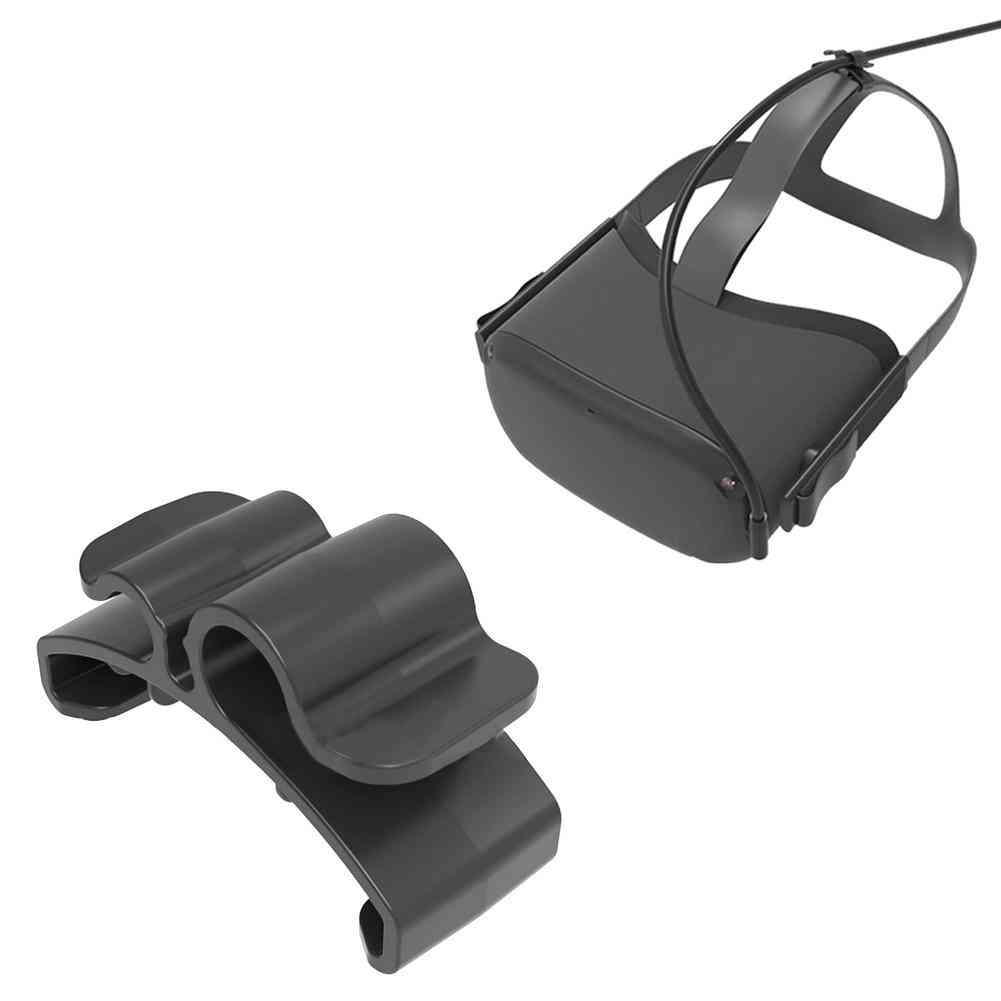 Cable Clamps For Oculus Quest, 2 Vr Headset Portable Cord Clip