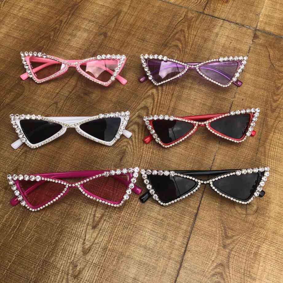 Kids Diamond Crystal Sun Glasses