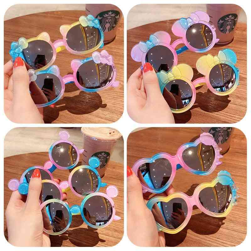 Baby Star Cartoon Round Colors Sunglasses