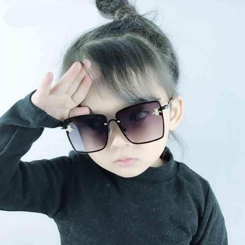 Kids Oversize Square Sun Glasses