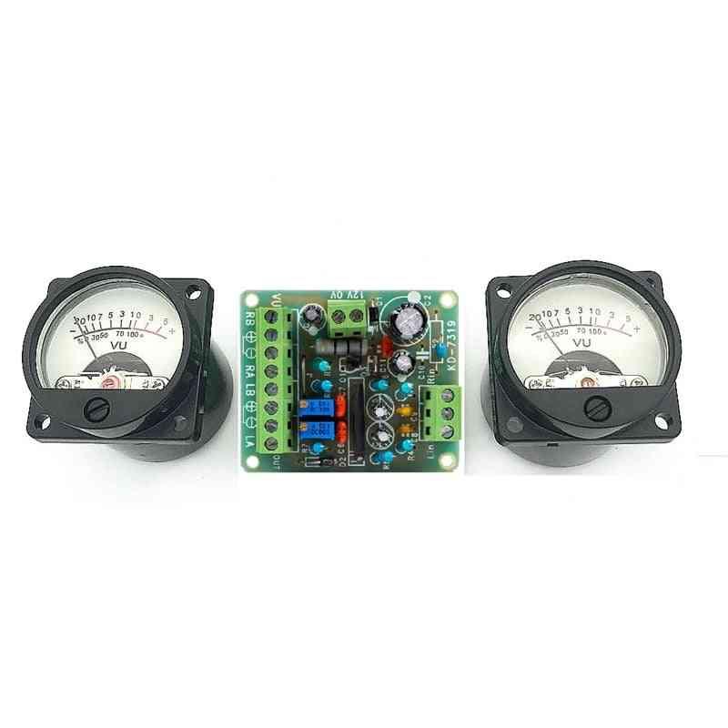 Audio Level Amplifier Indicator