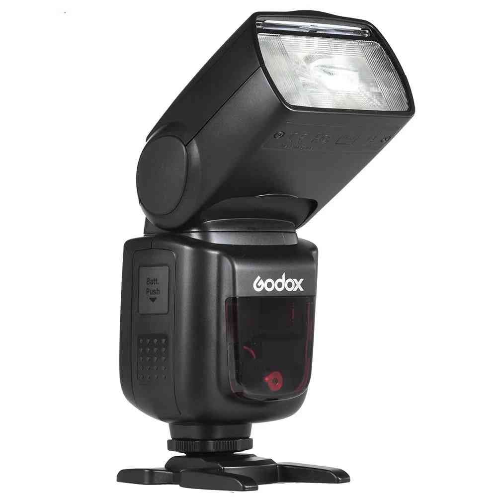 V850ii Gn60 Off Camera 1/8000s Hss Flash Speed Lite 2.4g Wireless X System Li-ion Battery For Canon Nikon Dslr Cameras