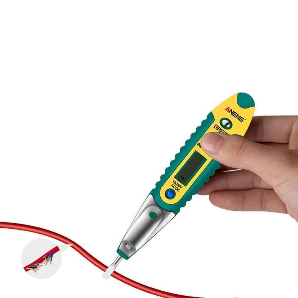 Lcd Digital Display Voltage Test Pen Pencil Tester