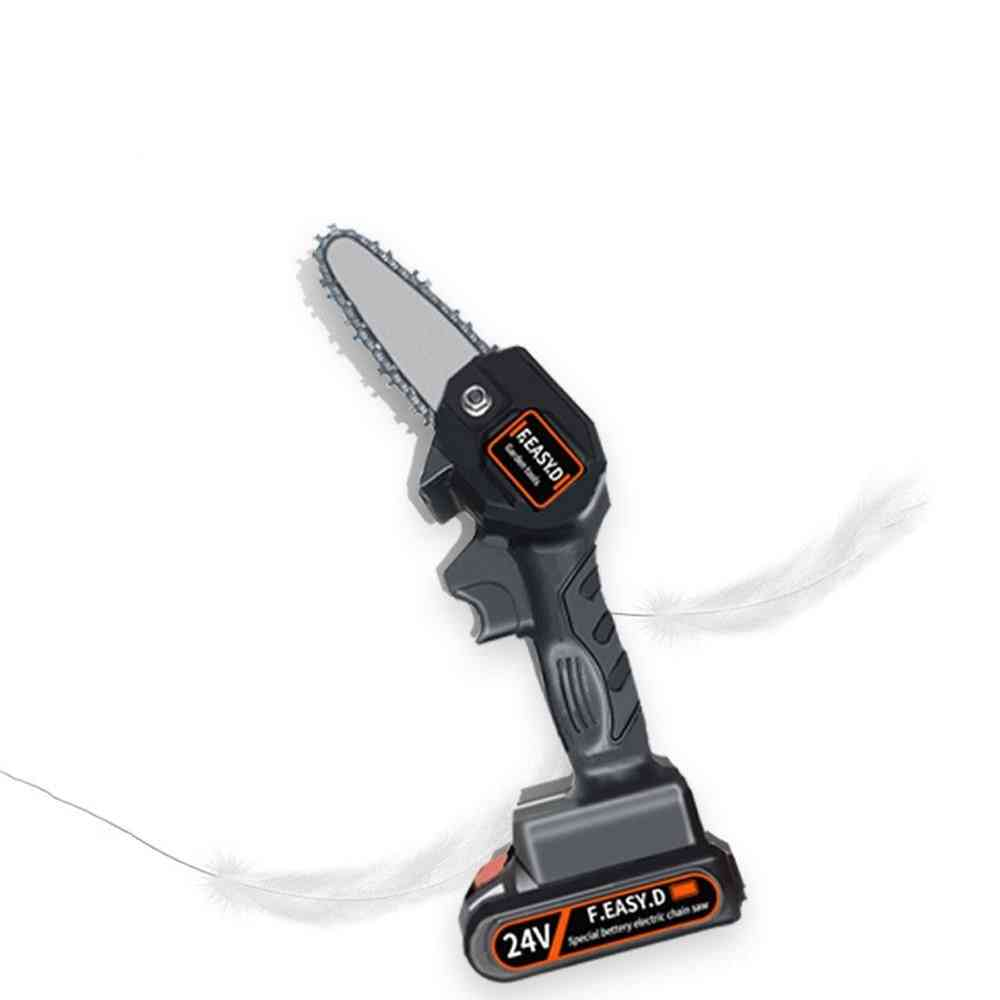 Rechargeable Small Electric Chain Saw