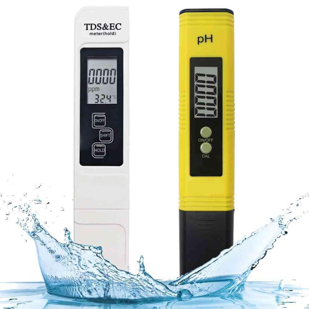 3-in-1 Tds Ec Temperature Meter