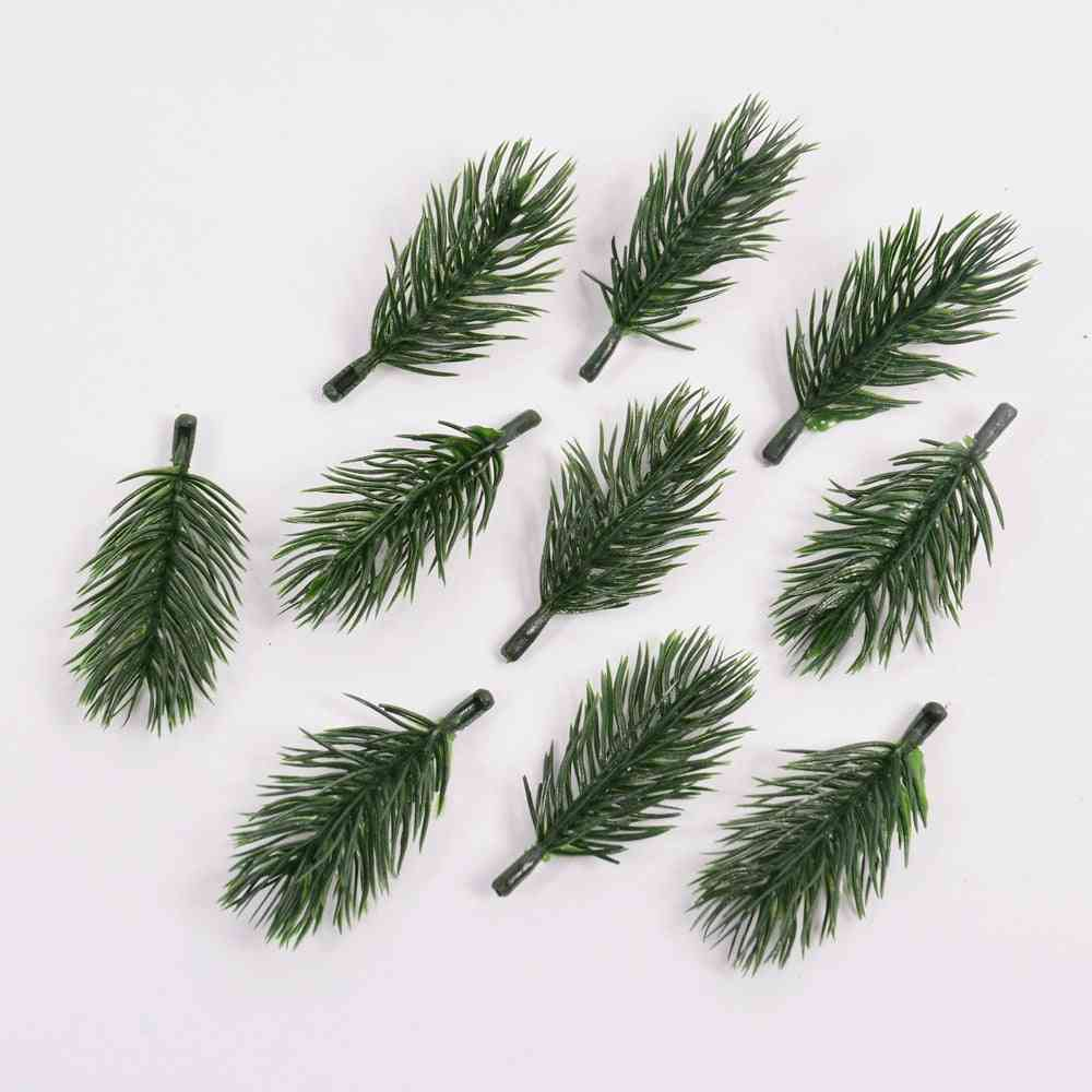 Pine Needle Artificial Fake Plant, Flowers Branch For Christmas, Tree Decoration For Home Accessories, Diy Bouquet