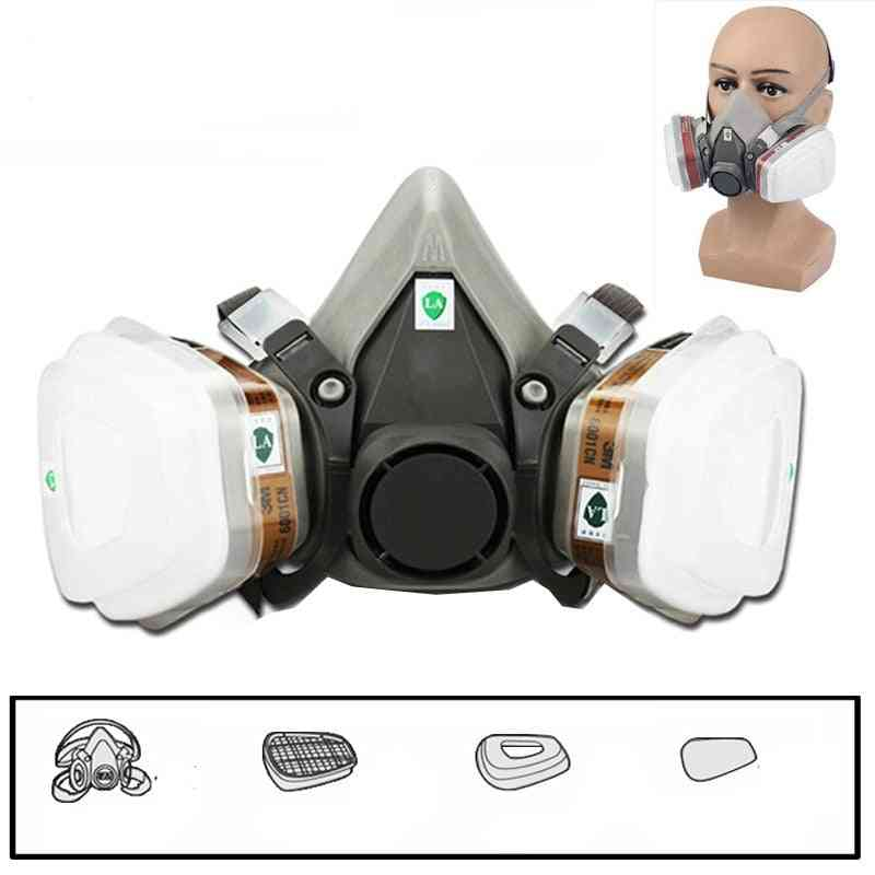 7 In 1 Gas / Chemical Respirator Protective & Dust Powder Mask