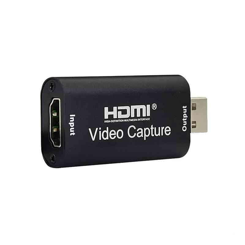 4k Video Capture Card Usb  Hdmi-compatible Grabber Recorder