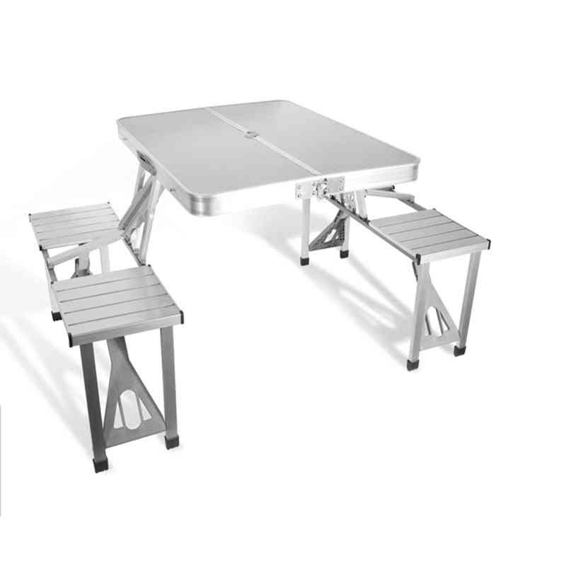 Outdoor Furniture Garden Sets Portable Aluminium Alloy
