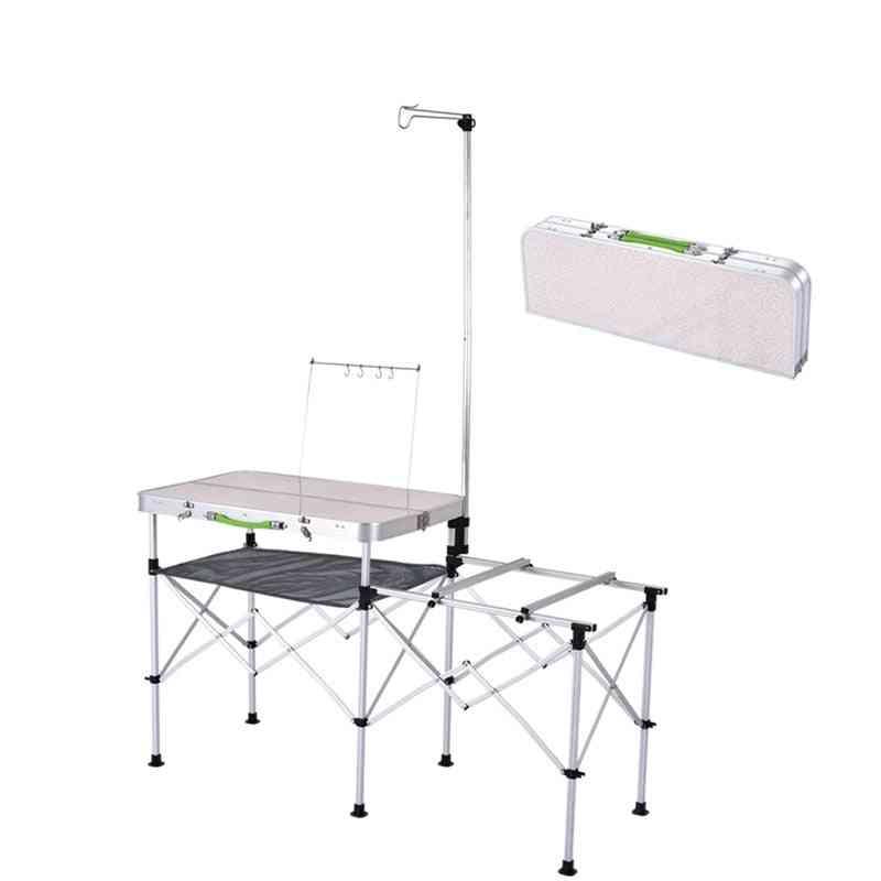 Metal Outdoor Activities Folding Table