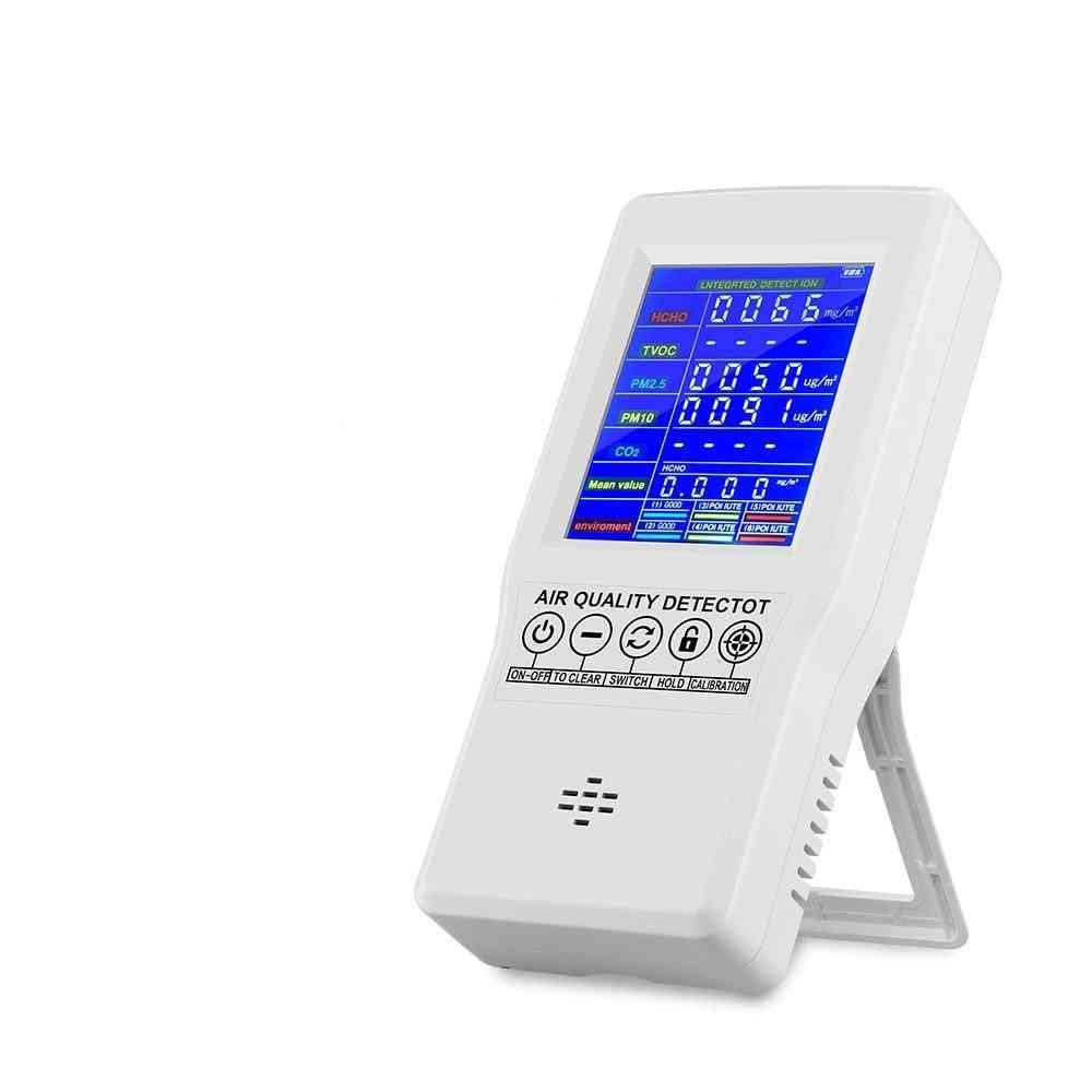Monitor Digital Detector Gas Analyzer, Air Quality Tester Air Test