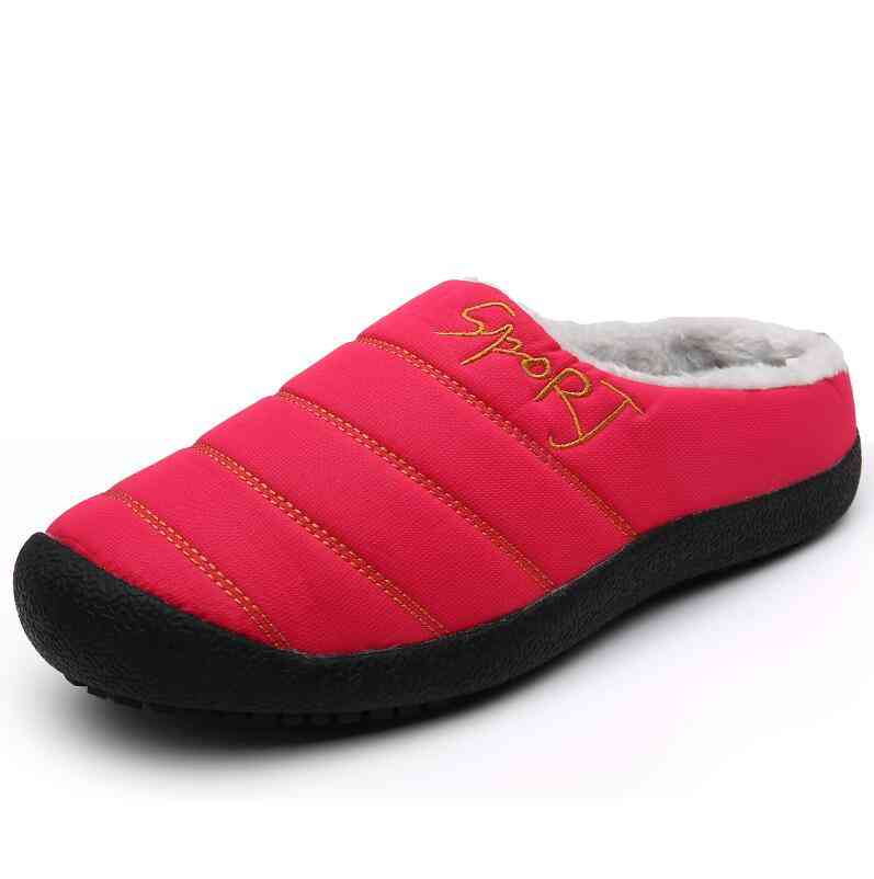 New Winter Slippers For Men/women, Warm Indoor Shoes