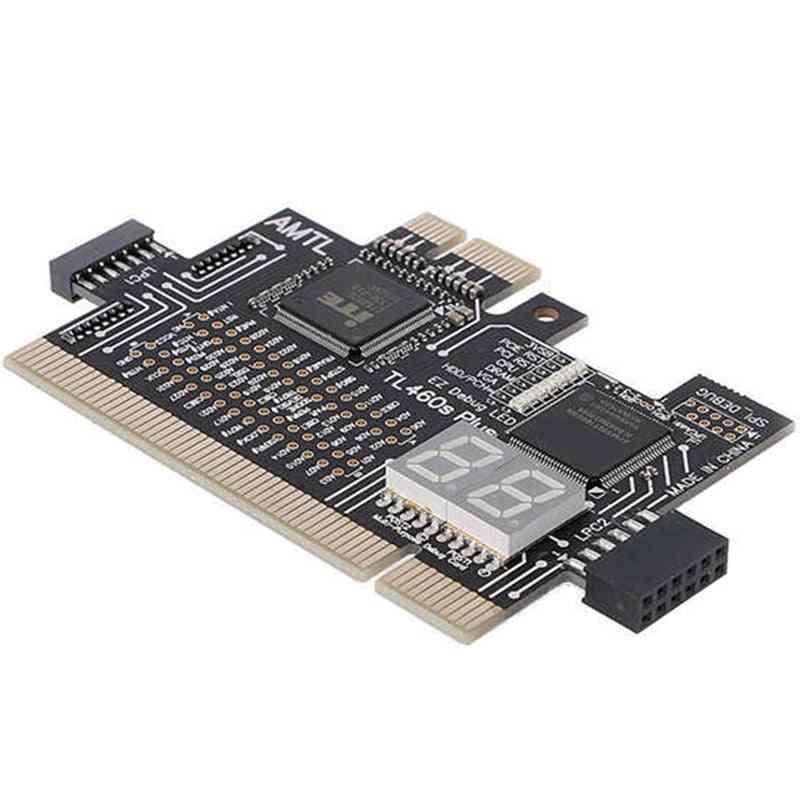 Detect Tool Pci-e Lpc Multi Use Diagnostic Card Laptop Desktop Test Accessories