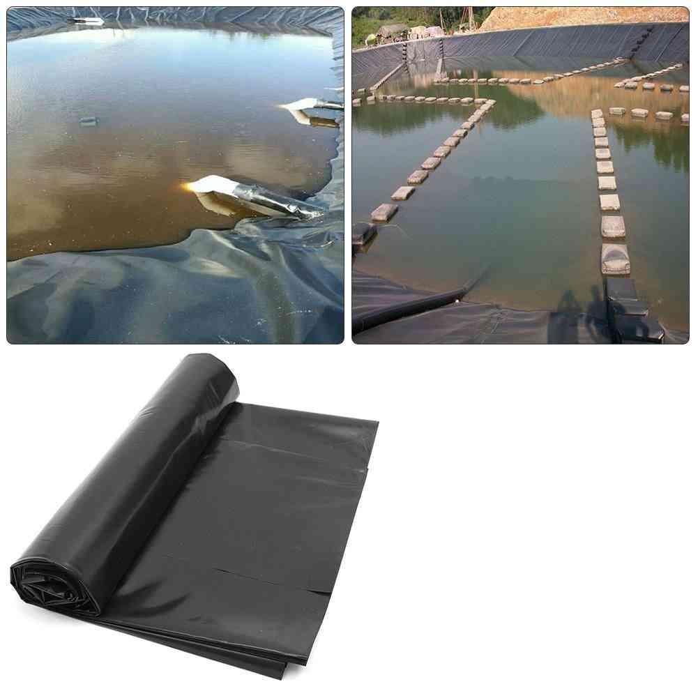 Waterproof Fish Pond Liner, Garden Pool, Reinforced Membrane, Flexible, Durable, Backyard Waterfall Cloth