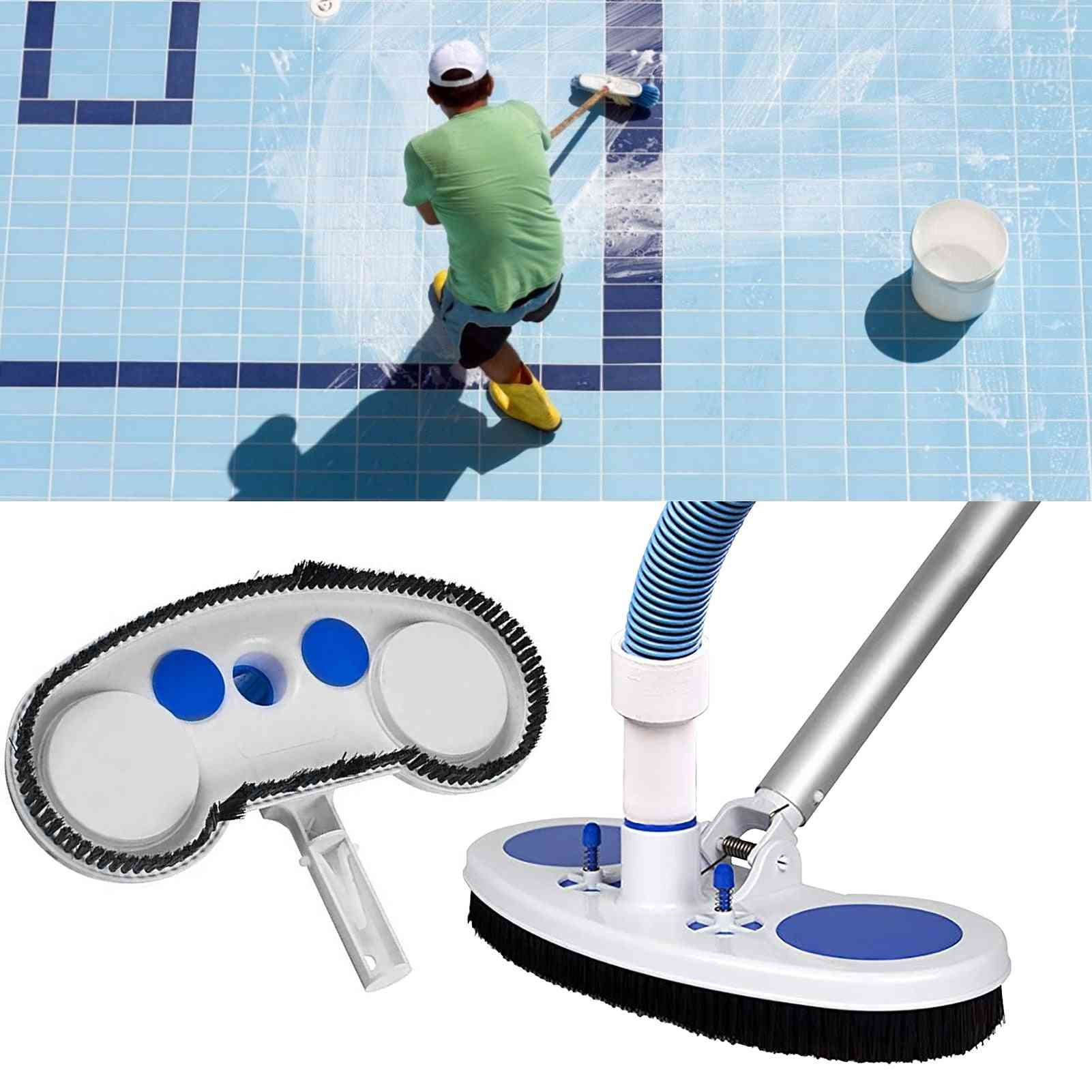 Swimming Pool Vacuum Suction Head, Cleaning Brush, Spa Sewage Cup, Cleaning Tools
