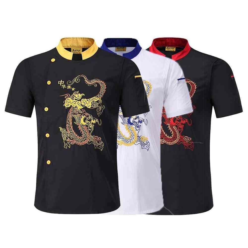 Dragon Embroidery Chef Jacket
