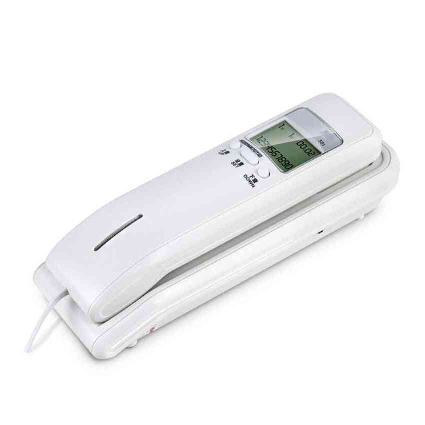 Trimline Corded Phone With Dual Lcd Display