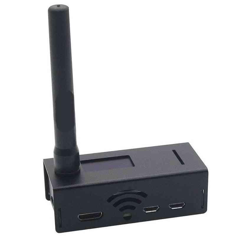 Hotspot Support Dmr Ysf For Raspberry Antenna Black Case