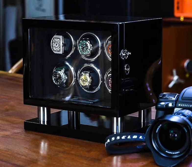 Automatic Watches Shaker Electric Rotating Box Organizer With Lcd