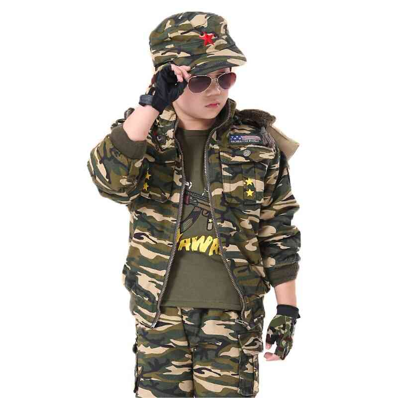 Thicken Scouting Uniforms Protecting Camouflage