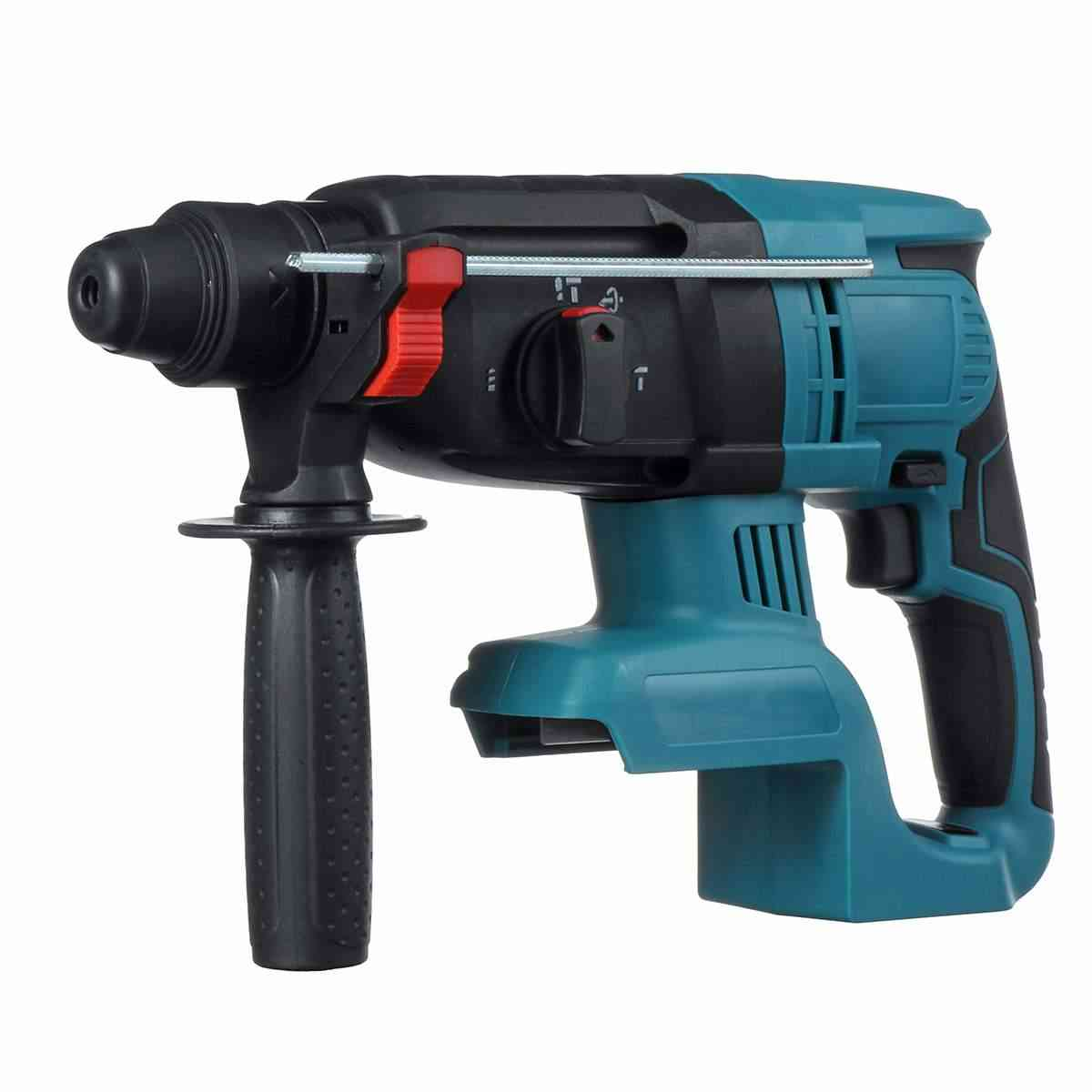 4 Functions Electric Rotary Hammer Drill Rechargeable Hammer