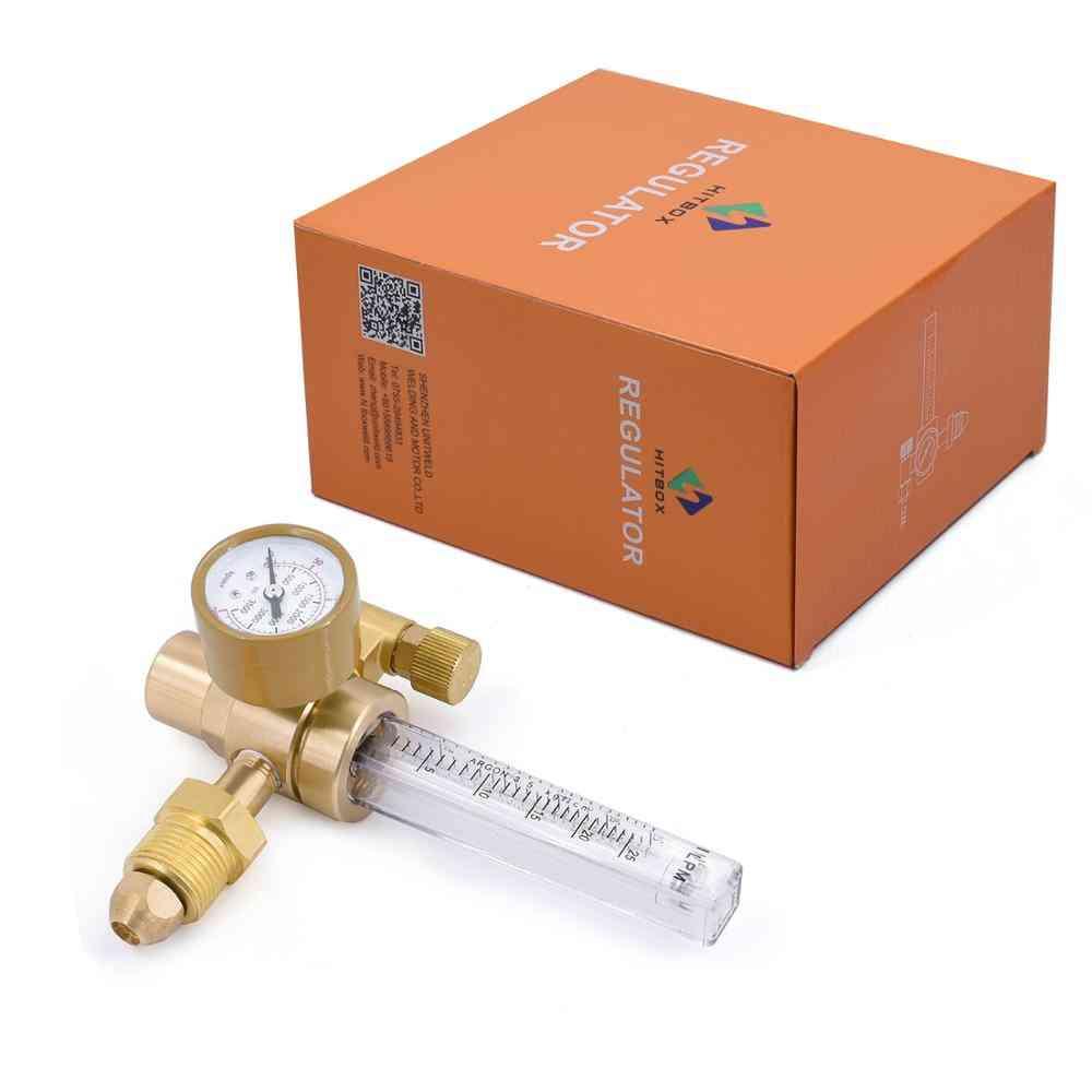 Hitbox Argon Co2 Regulator Gauge Flow Meter