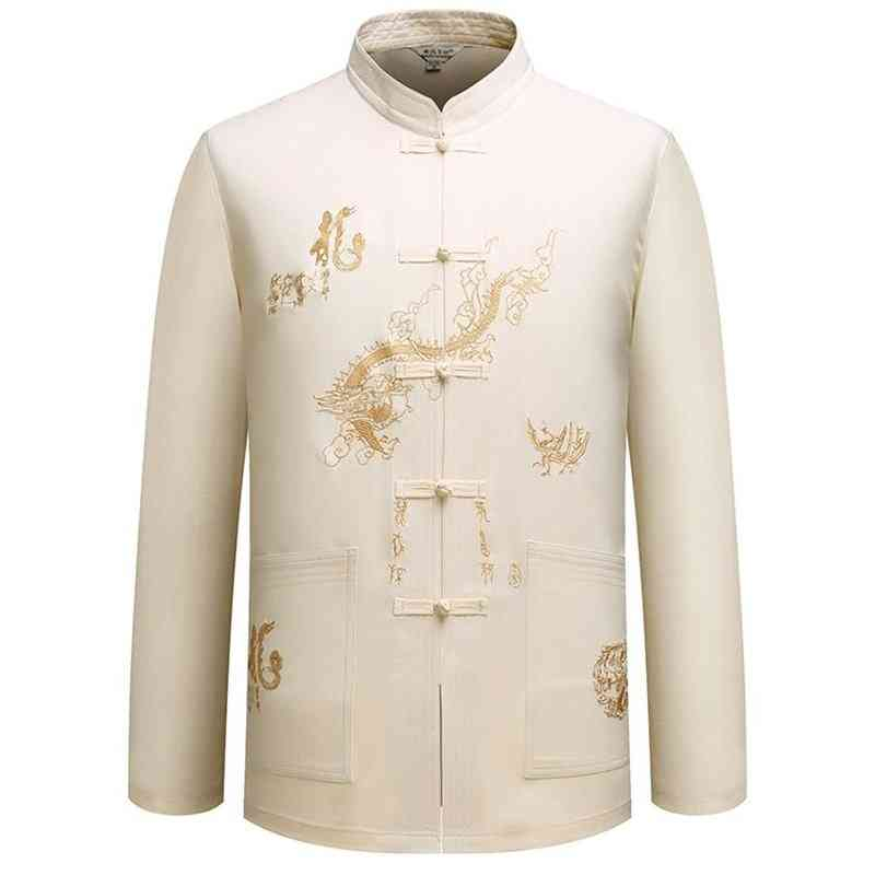 Male Clothes Tangsuit Traditional Chinese Clothing