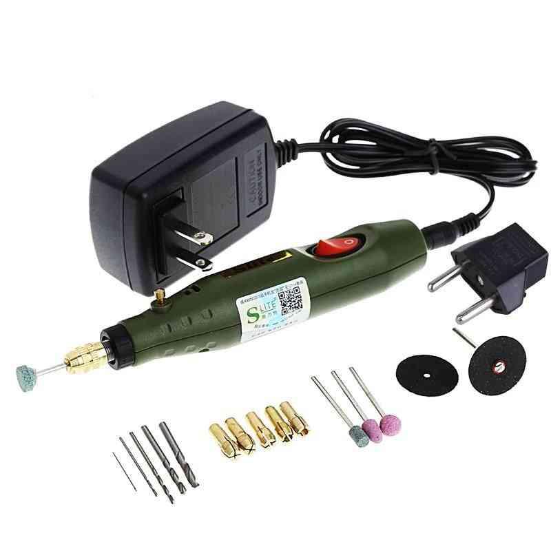 Fghgf 220v Power Tool Engraving Pen Mini Electric Grinder Machine Power Tools