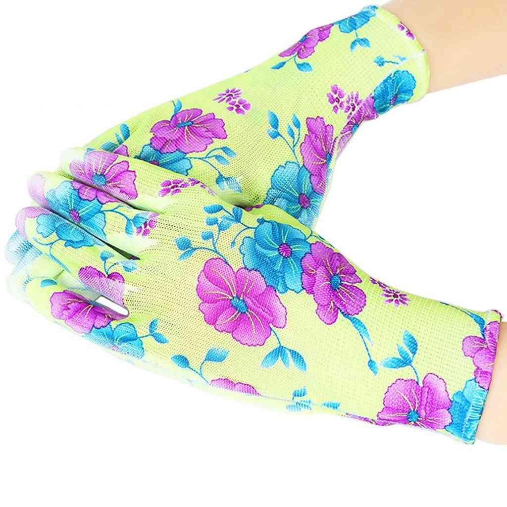Multifunctional Printing Anti-stab Wear Garden Gloves