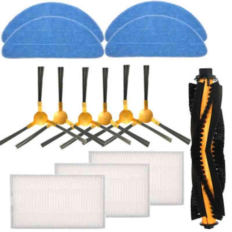 Hepa Filter Robot Vacuum Cleaner Parts Mop Set Parts