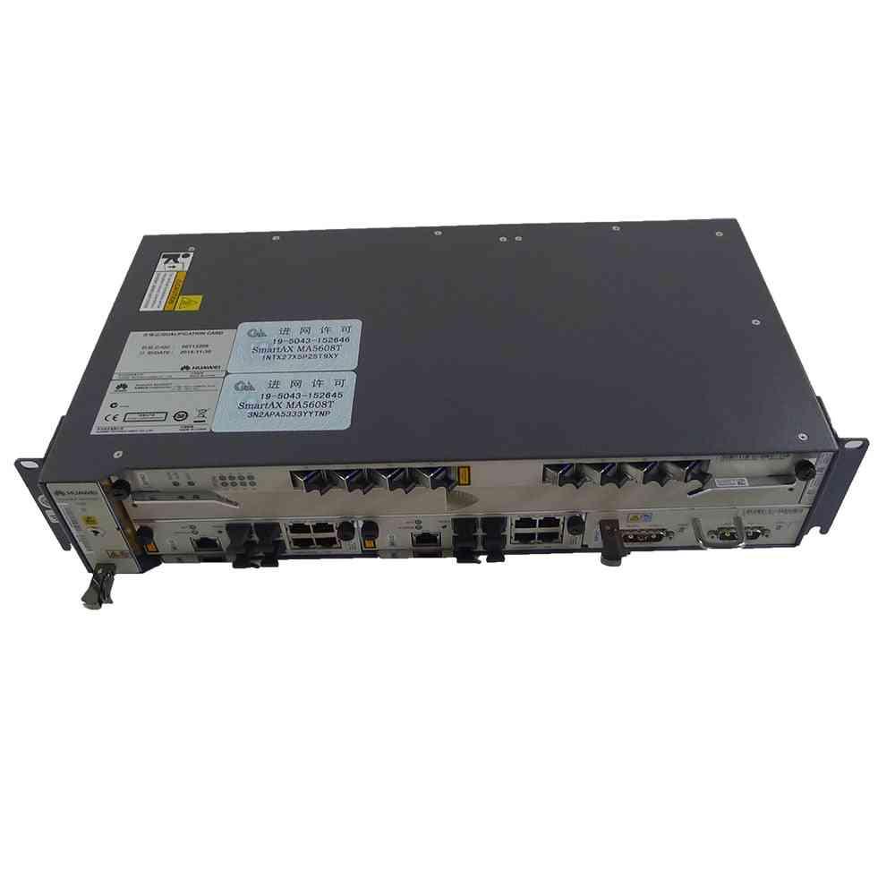 Cabinet Standard Mini Gpon Or Epon Olt Ma5608t With 2*mcud+1*mpwc