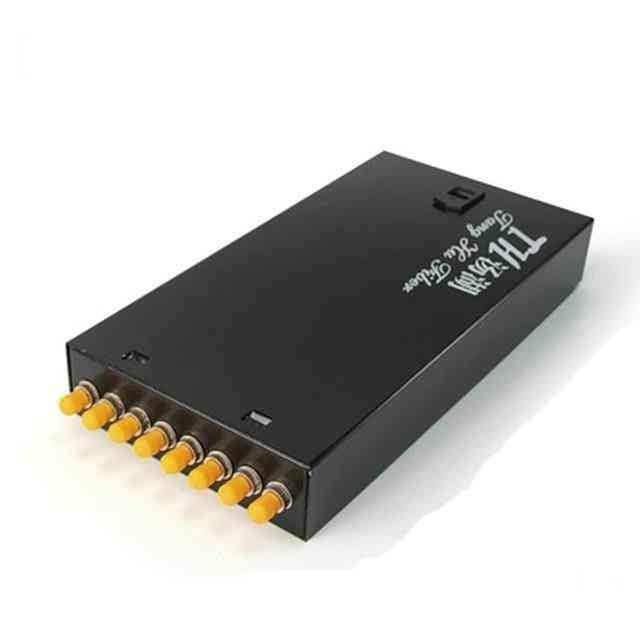 8 Ports St Thickening Fiber Optic Termination Box Fiber Optic Distribution
