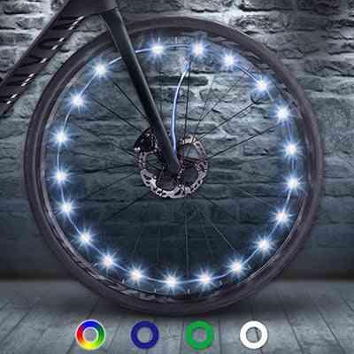 Bicycle Mountain, Bike Wheel String Led Light