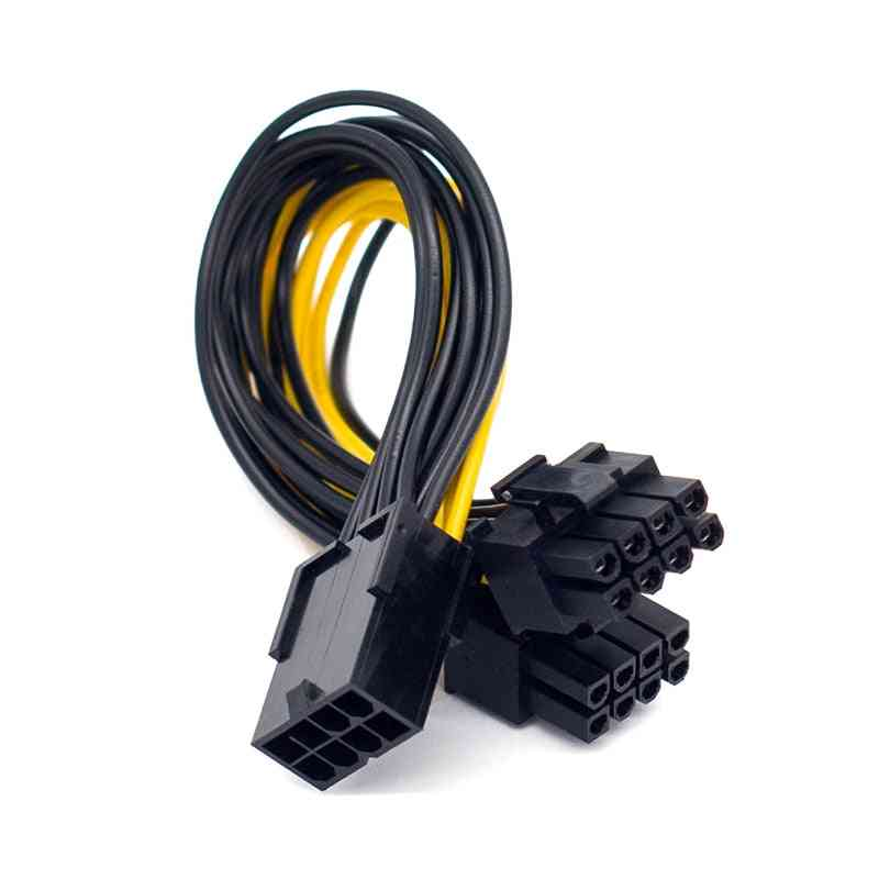 Vga Graphic Video Card Gpu Adapter Power Supply Splitter Cable