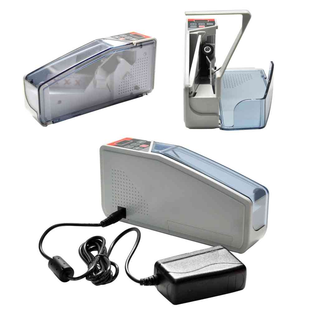 Hand-held Banknote Counter, Used In Machines, Financial Equipment With Leather Bag