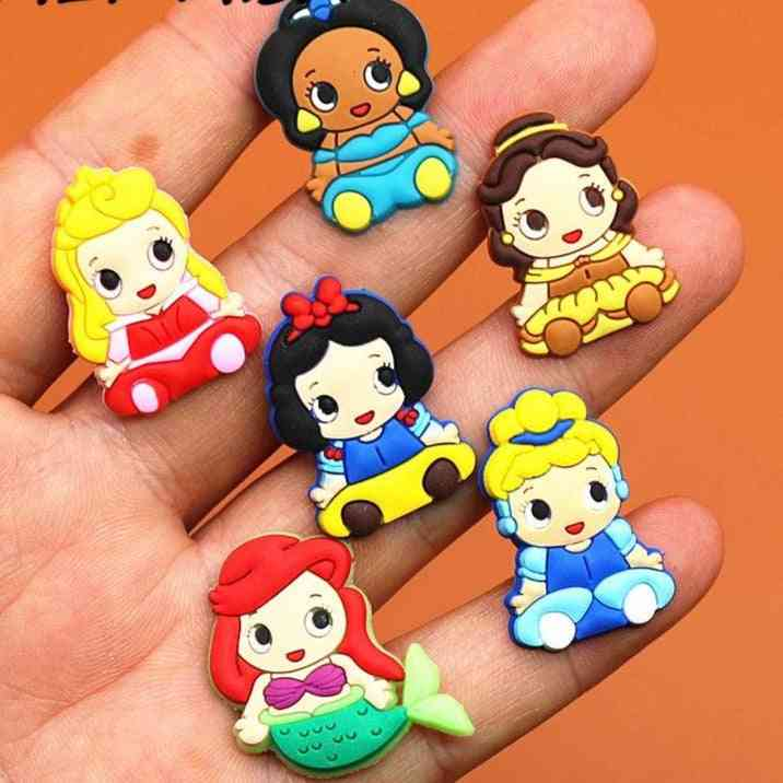 Cute Princess Shoe Charms Accessories For Wristband