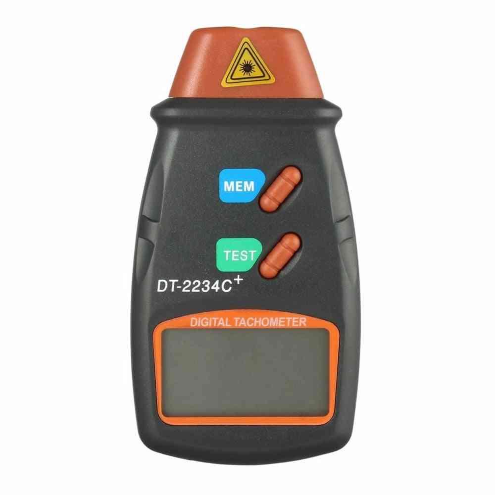Non-contact Laser Tachometer Lcd Digital Rpm Measurement Meter Speedometer