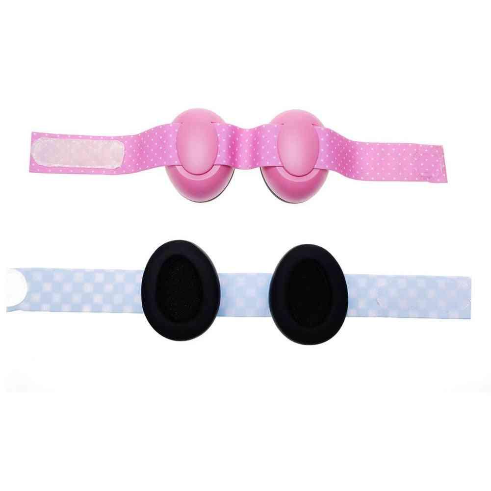 Adjustable Hearing Elastic Strap Defenders Soundproof Portable Anti Noise Baby Travel Earmuff