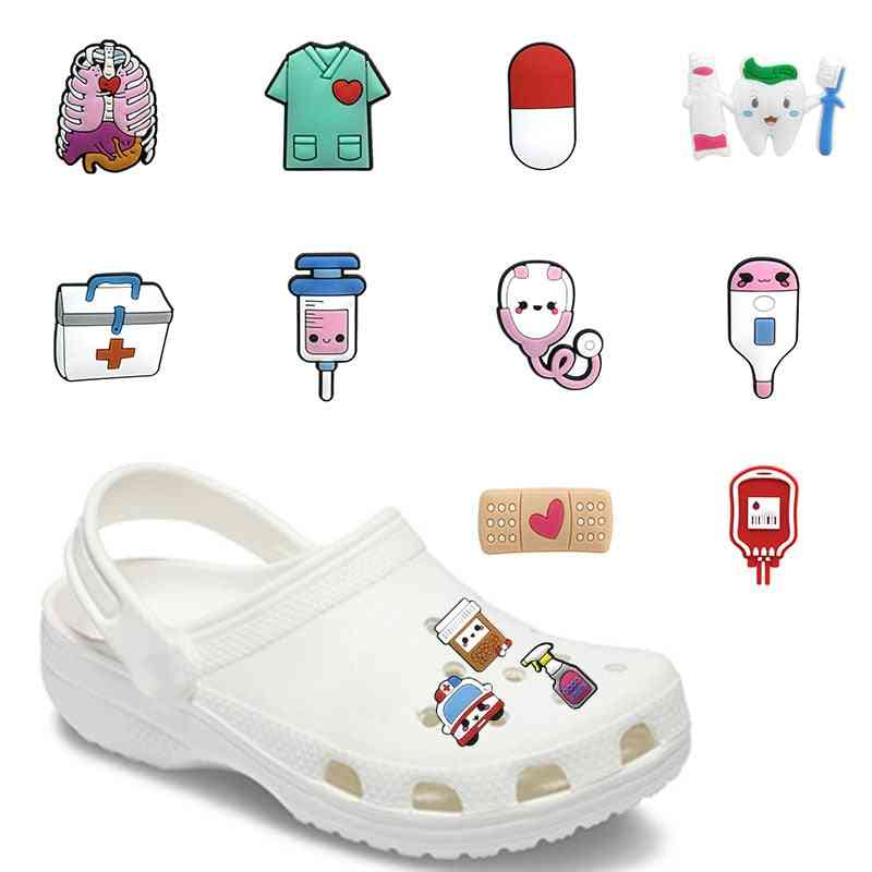Medicine Box, Medical Supply Pvc Shoe Charms