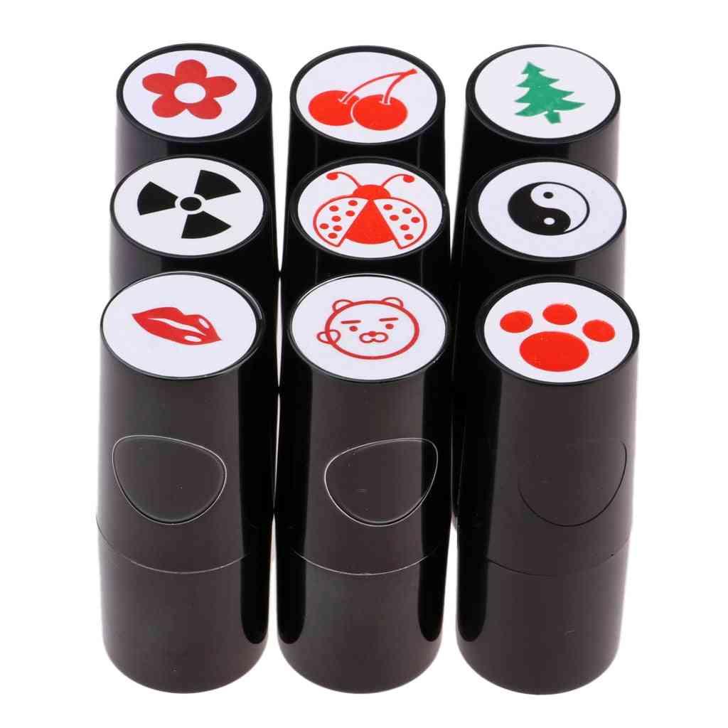 Quick-dry Golf Ball Stamp Marker, Symbol Impression, Stamper Stamp, Various Designs