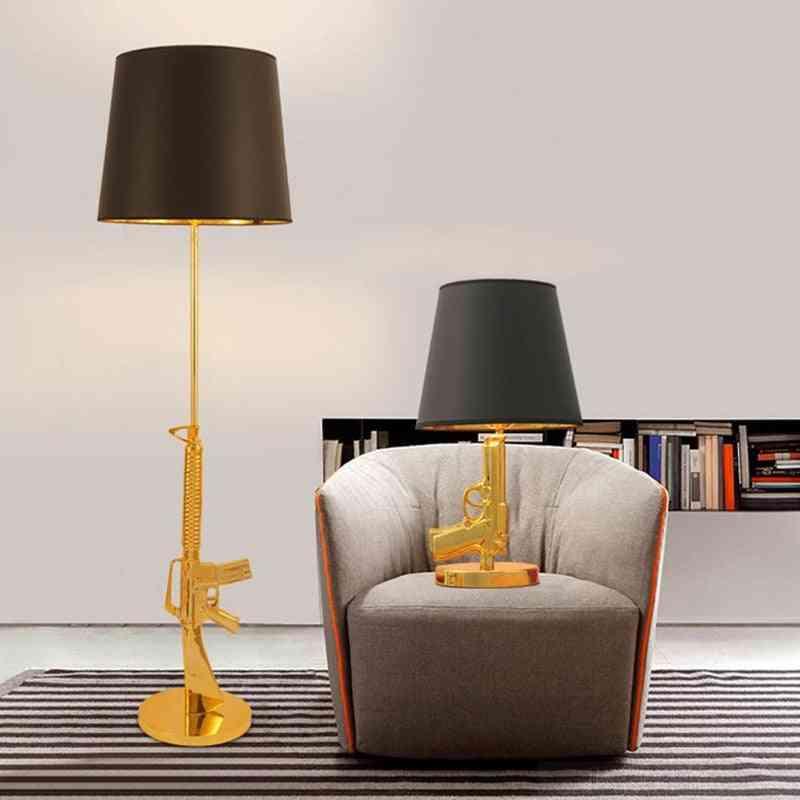 Nordic Classical Gun Lounge Floor Lamps Personality Design