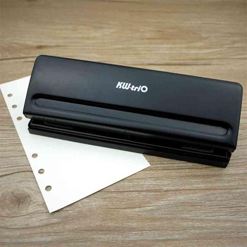 Metal Punch Scrapbooking Tools, Paper Cutter, Adjustable Loose-leaf, Diy Craft Puncher, Office Binding Supplies