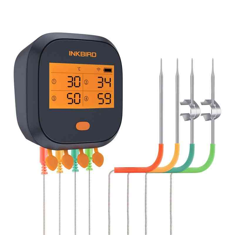 Ibbq-4t Wi-fi Meat Digital Thermometer Magnetic Alarm