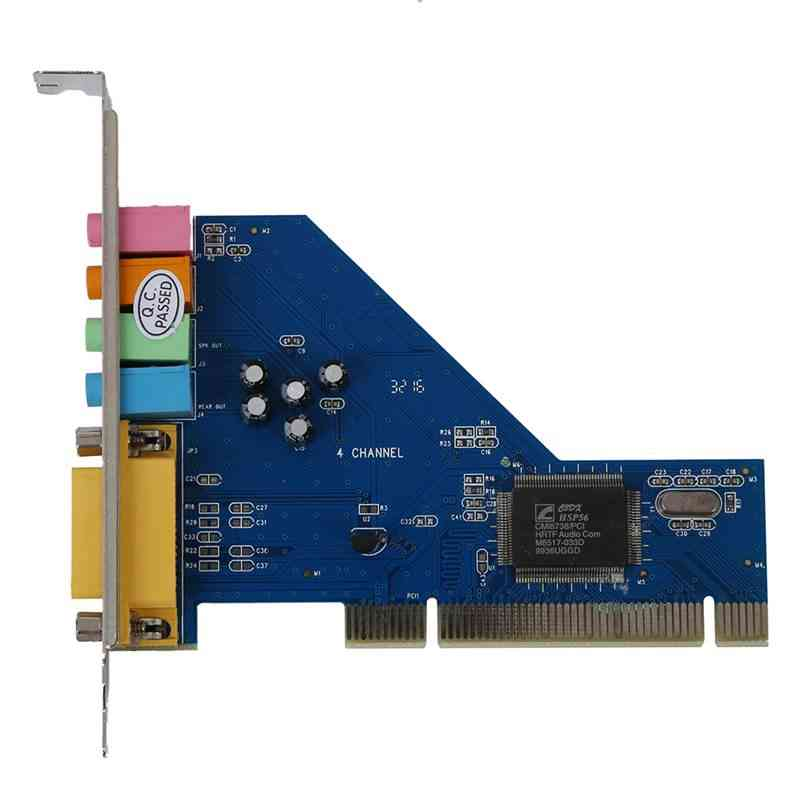 4 Channel C-media 8738 Chip 3d Audio Stereo