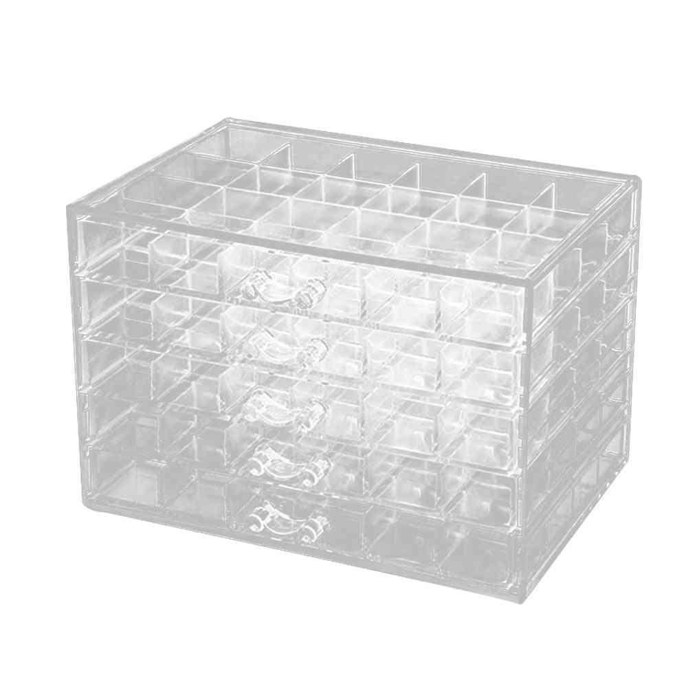 120 Grids Acrylic Makeup Organizer, Storage Box