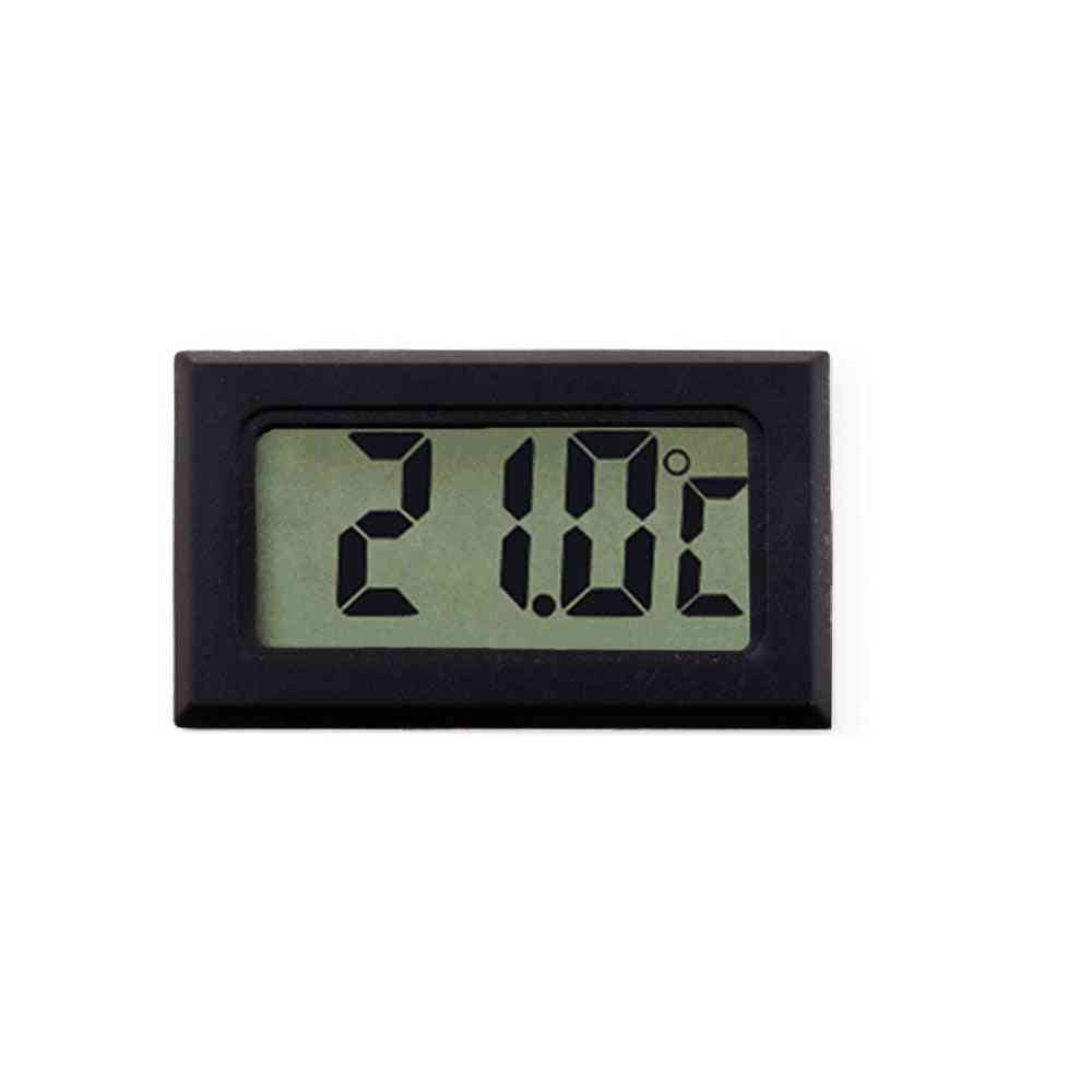 Digital Thermometer, Hygrometer, Mini Lcd Humidity Meter, Freezer, Fridge, Coolers Aquarium Chillers