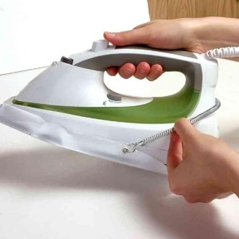 Iron Shoe Cover, Ironing Aid, Board Protect Fabrics, Cloth Heat, Easy, Fast Board, Non-stick